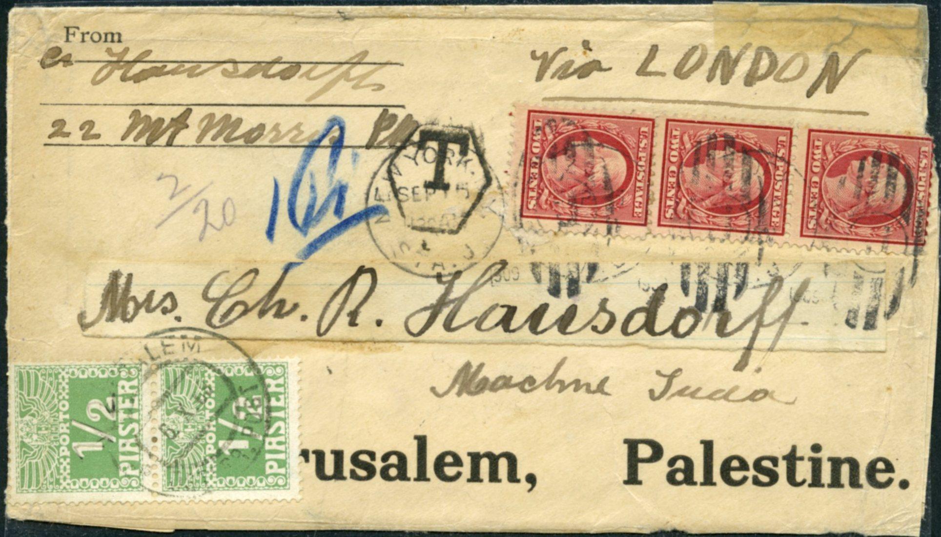 Lot 9 - AUSTRIAN POST  -  Tel Aviv Stamps Ltd. Auction #45