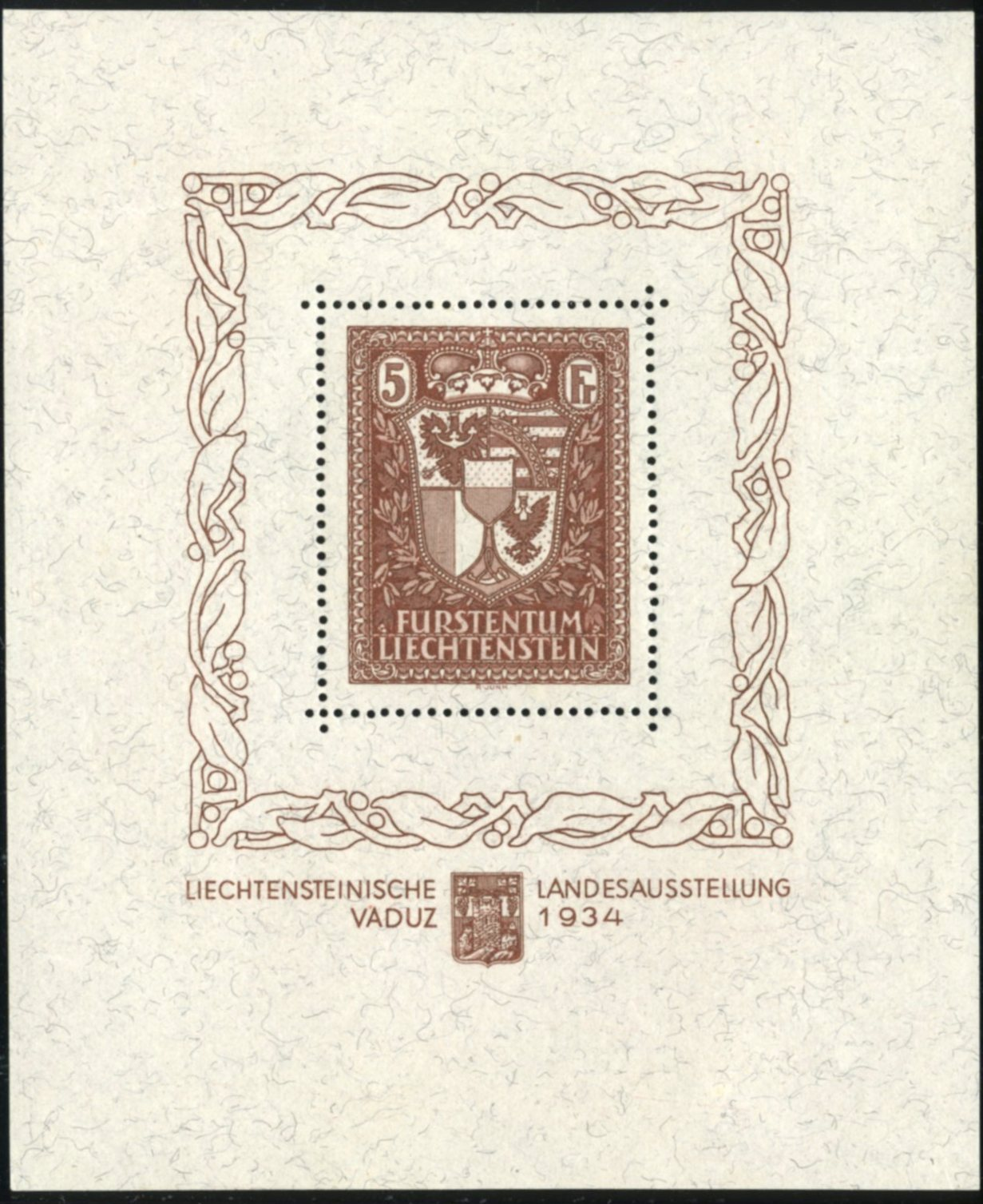 Lot 20 - Liechtenstein  -  Tel Aviv Stamps Ltd. Auction #45